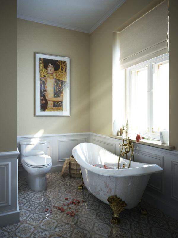 La baignoire sabot est un bijou pour votre salle de bains à thème ...