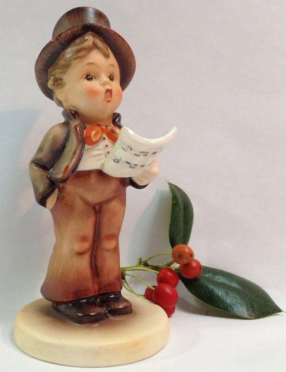 Christmas carolers figurines large figurine street