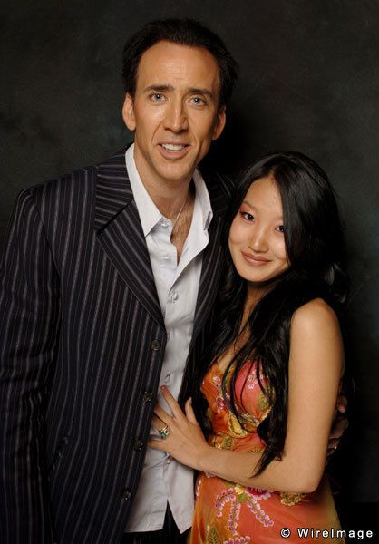 Nicolas Cage & Alice Kim (Korean)   People   Pinterest ...