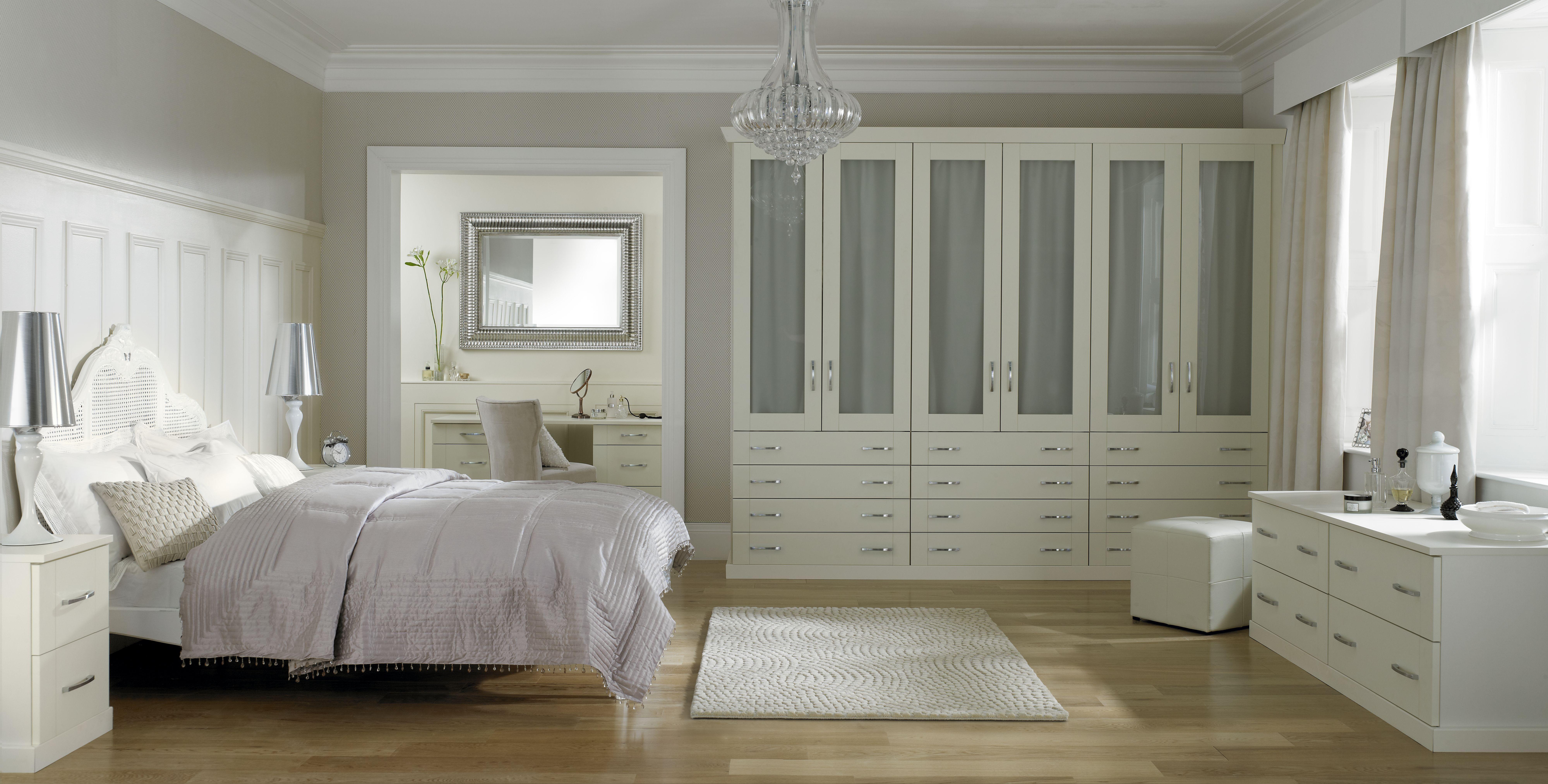 Nicole - Enjoy a classic ivory bedroom with the Nicola ...