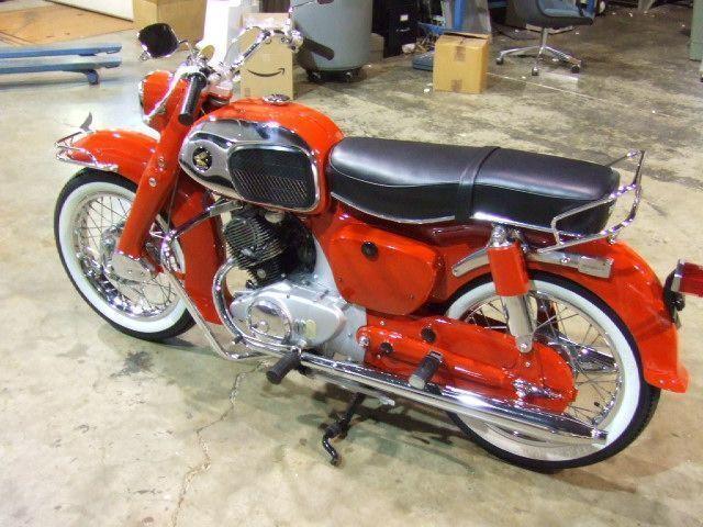 honda 150 motorcycles motor wiring 1994 ford f 150 wiper motor wiring 1965 honda ca95 150 benly dream - click to see full-size ...