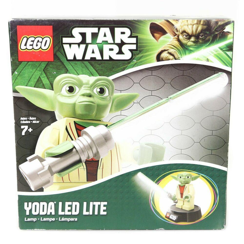 New In Box Lego Star Wars Yoda Led Light Desk Lamp With Lightsaber Jedi Master Afflink Contains Affiliate Star Wars Yoda Lego Star Wars Star Wars Minifigures