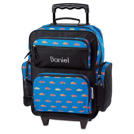 Surprising Race Car Rolling Luggage Free Personalization Lillianvernon Caraccident5 Cool Chair Designs And Ideas Caraccident5Info