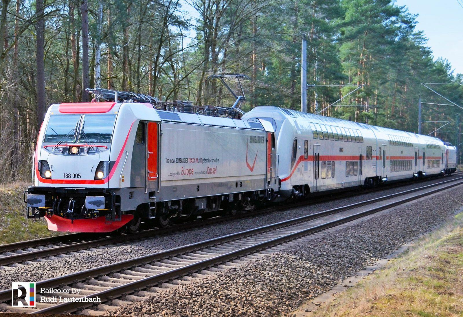 DE] TRAXX MS3 electrics enter the German rail network