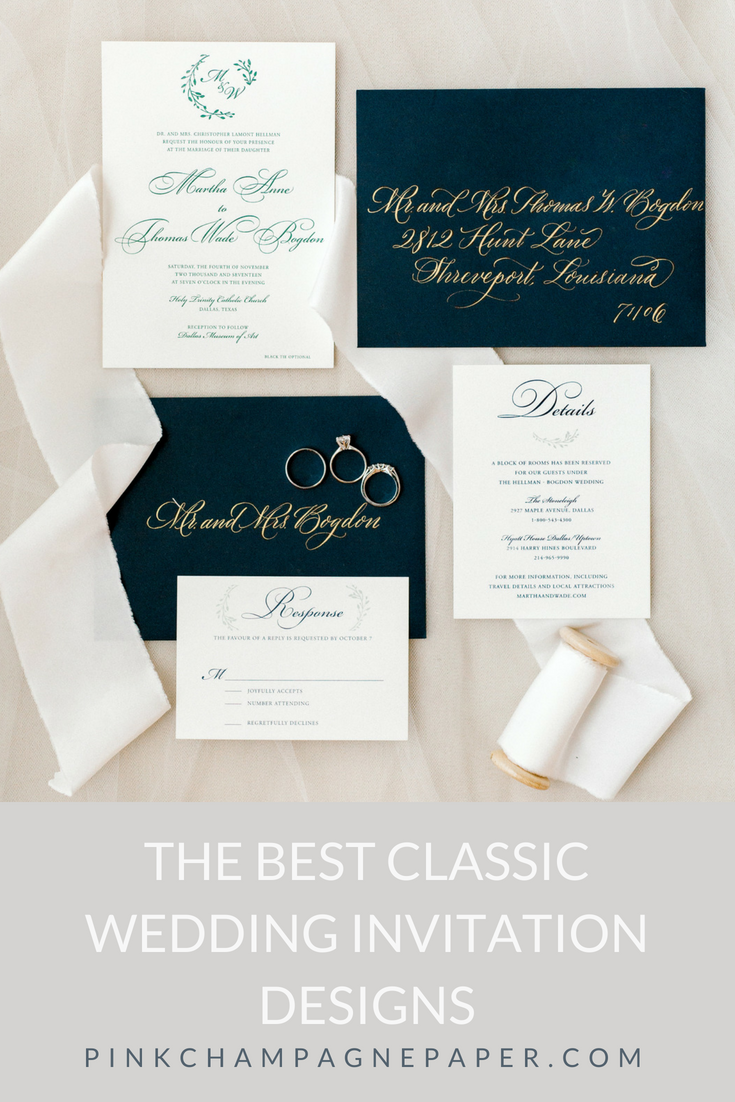 Home Page Wedding Stationery Design Classic Wedding Invitations Wedding Classic