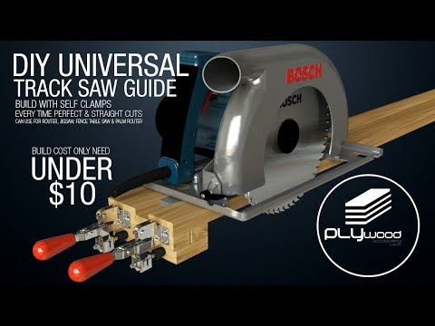38 Diy Universal Track Saw Guide With Self Clamps Circular Saw Jigsaw Router Guide Youtube Best Circular Saw Circular Saw Circular Saw Track