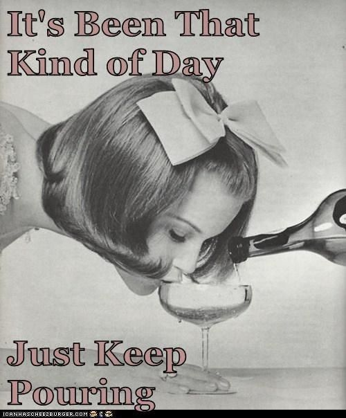 Just keep pouring