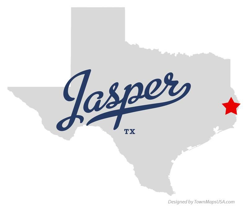 Jasper Georgia Map.Map Of Jasper Texas Tx Texas Georgia Jasper Map