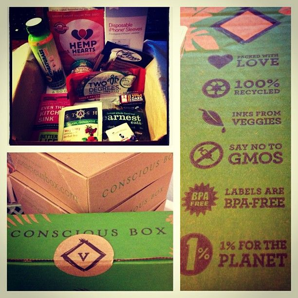 March 2013 Vegan Conscious Box