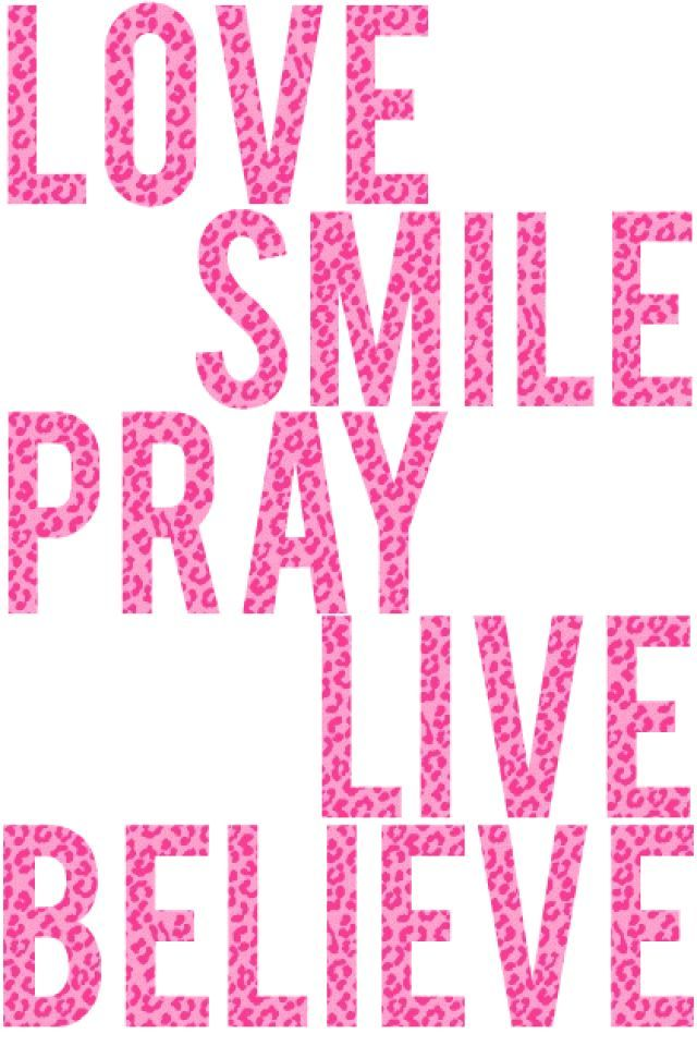 Cute Girly Wallpapers For Iphone Love Smile Pray Wallpaper