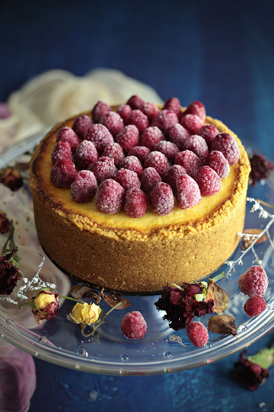 Baked Raspberry Cheesecake And One Of My Post Processing Secrets