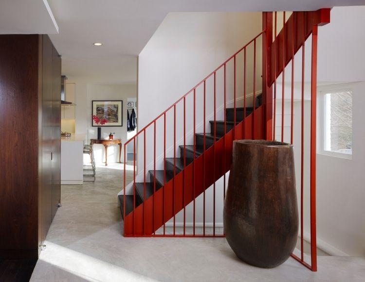 Treppengelander Streichen Ideen Fur Gelander Aus Holz Und Metall