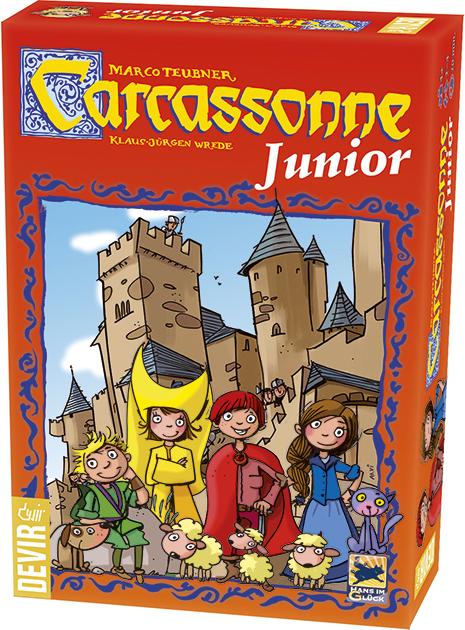 Carcassonne Junior Categorias Juegos De Tablero Juegos De Mesa