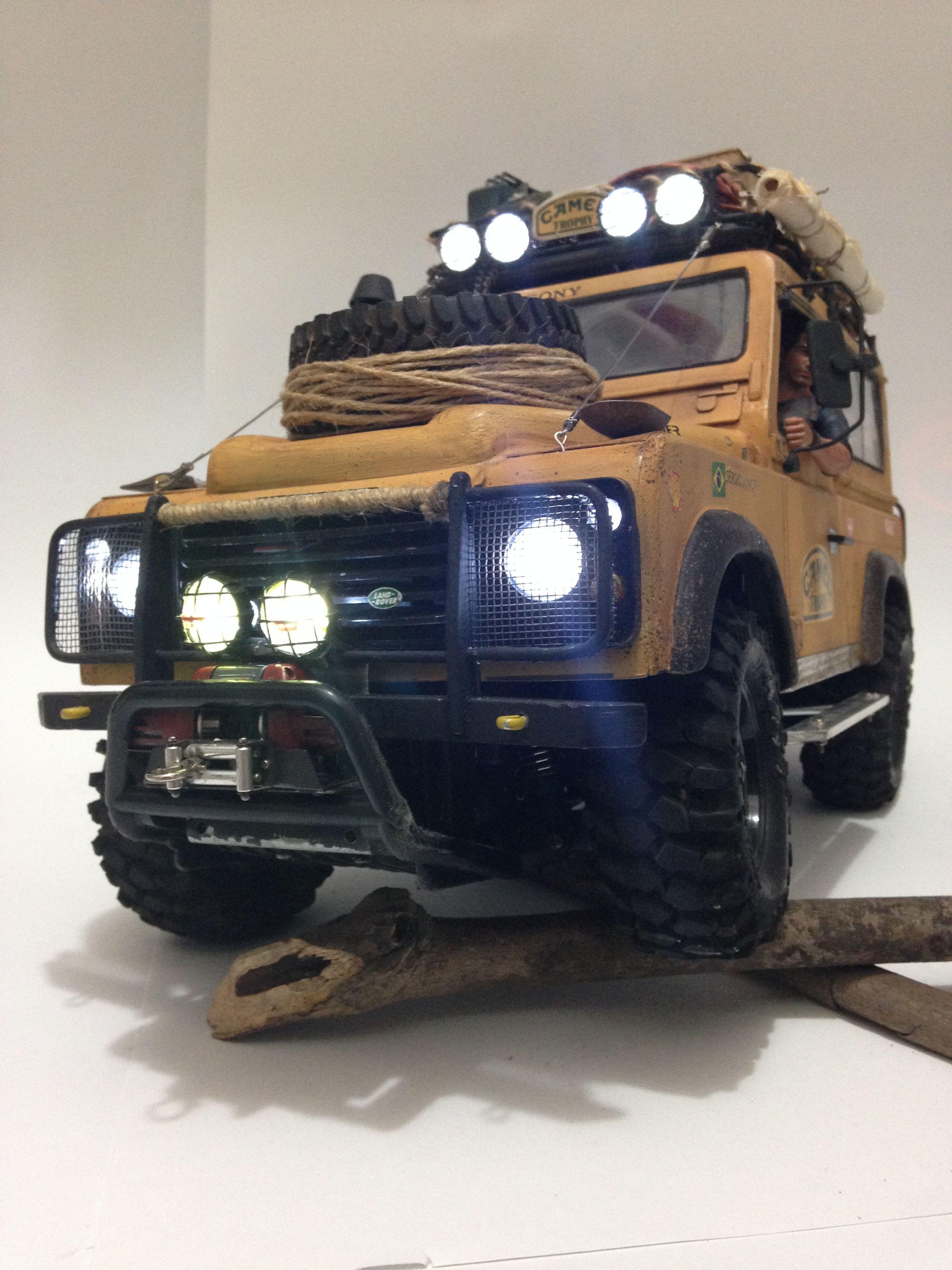 Land Rover Camel Trophy CC01 Tamiya RC Crawler #rccars | rc cars and