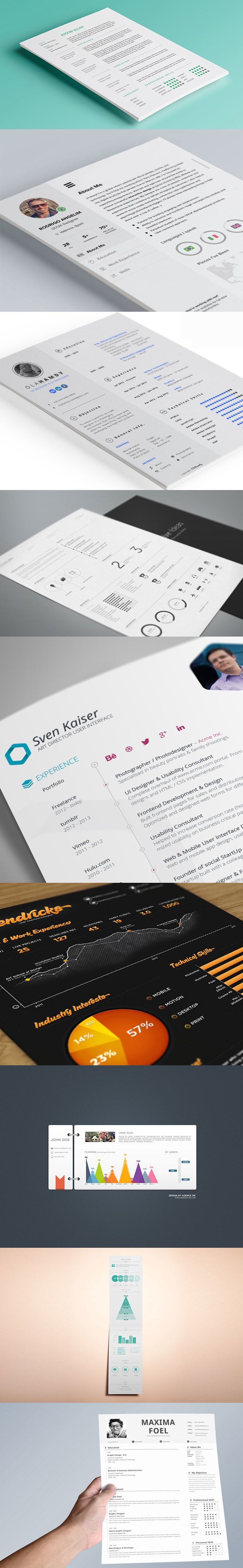 30+ Free CV Resume Templates ( HTML PSD & InDesign Cv