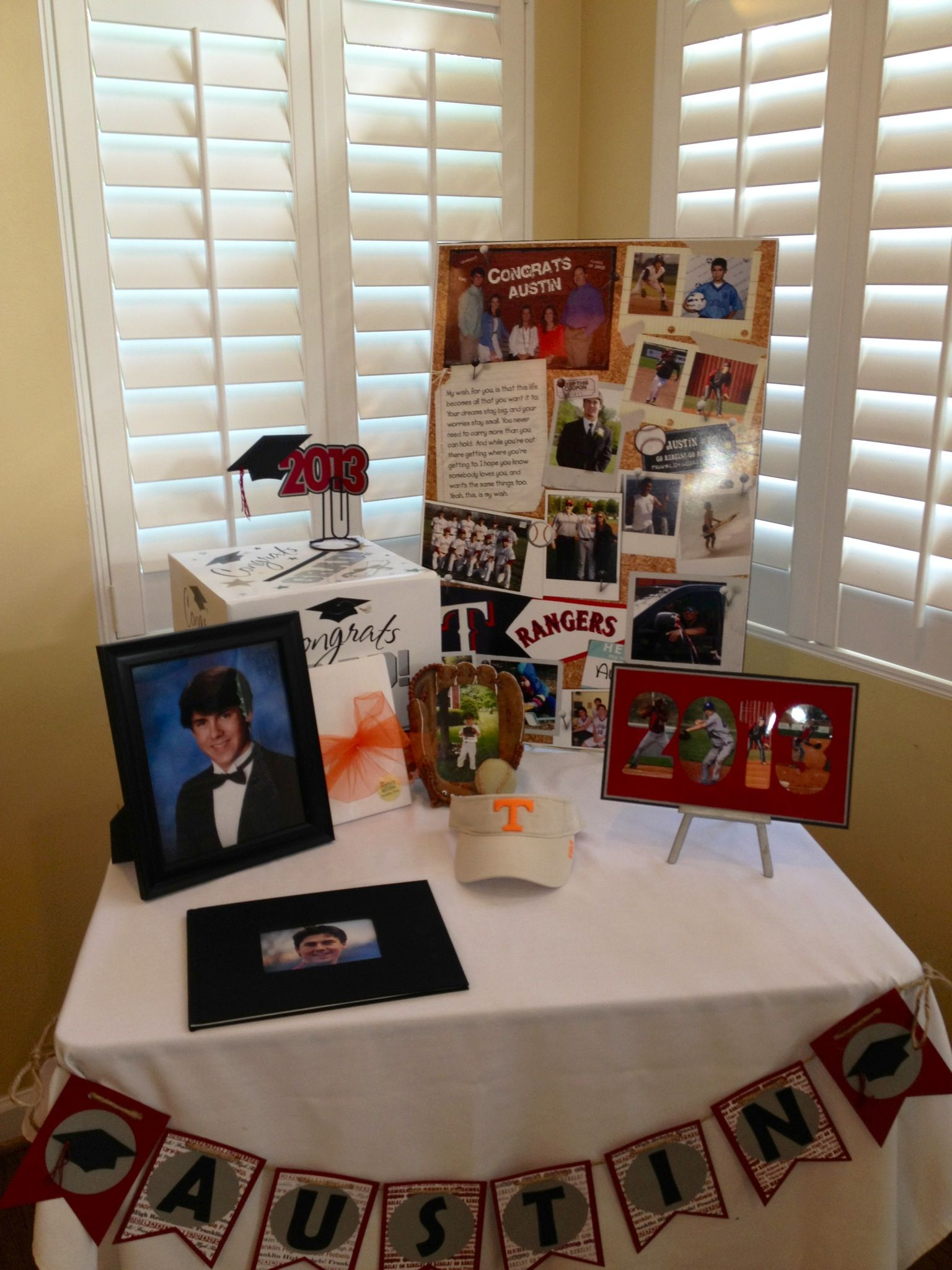 Graduation Table Ideas 8th grade graduation table decoration ideas photograph gra Graduation Table