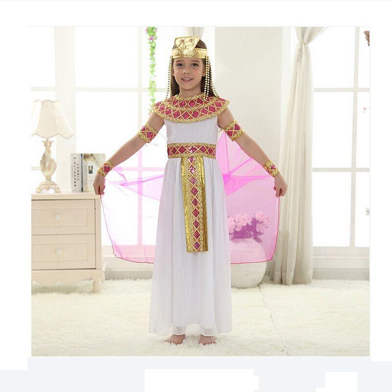 Kinder Mädchen Kinder Cosplay Halloween Party Ägypten Prinzessin ...