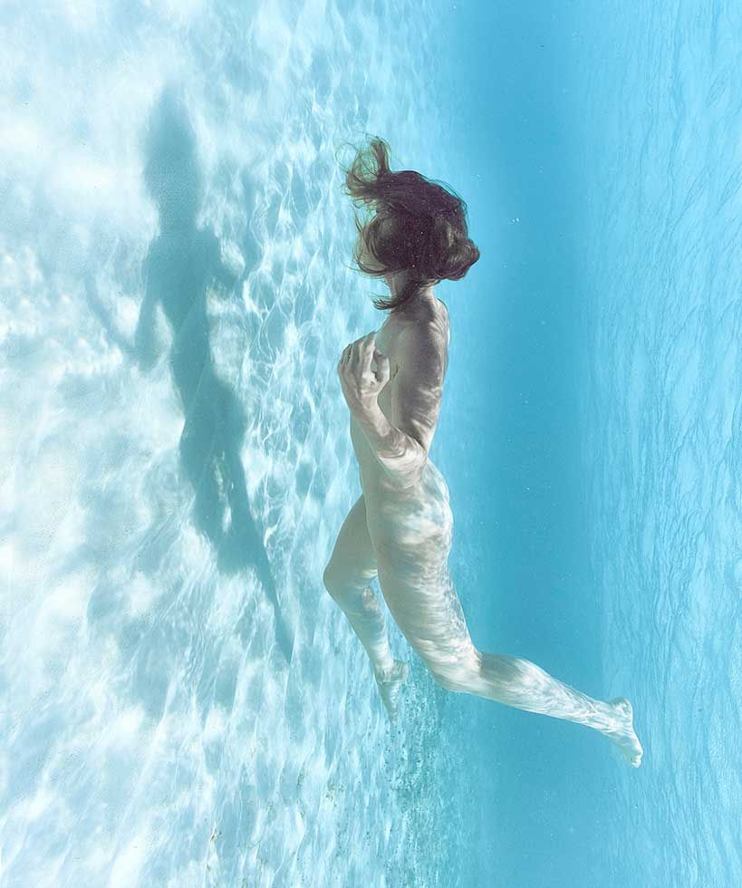 underwater women nude