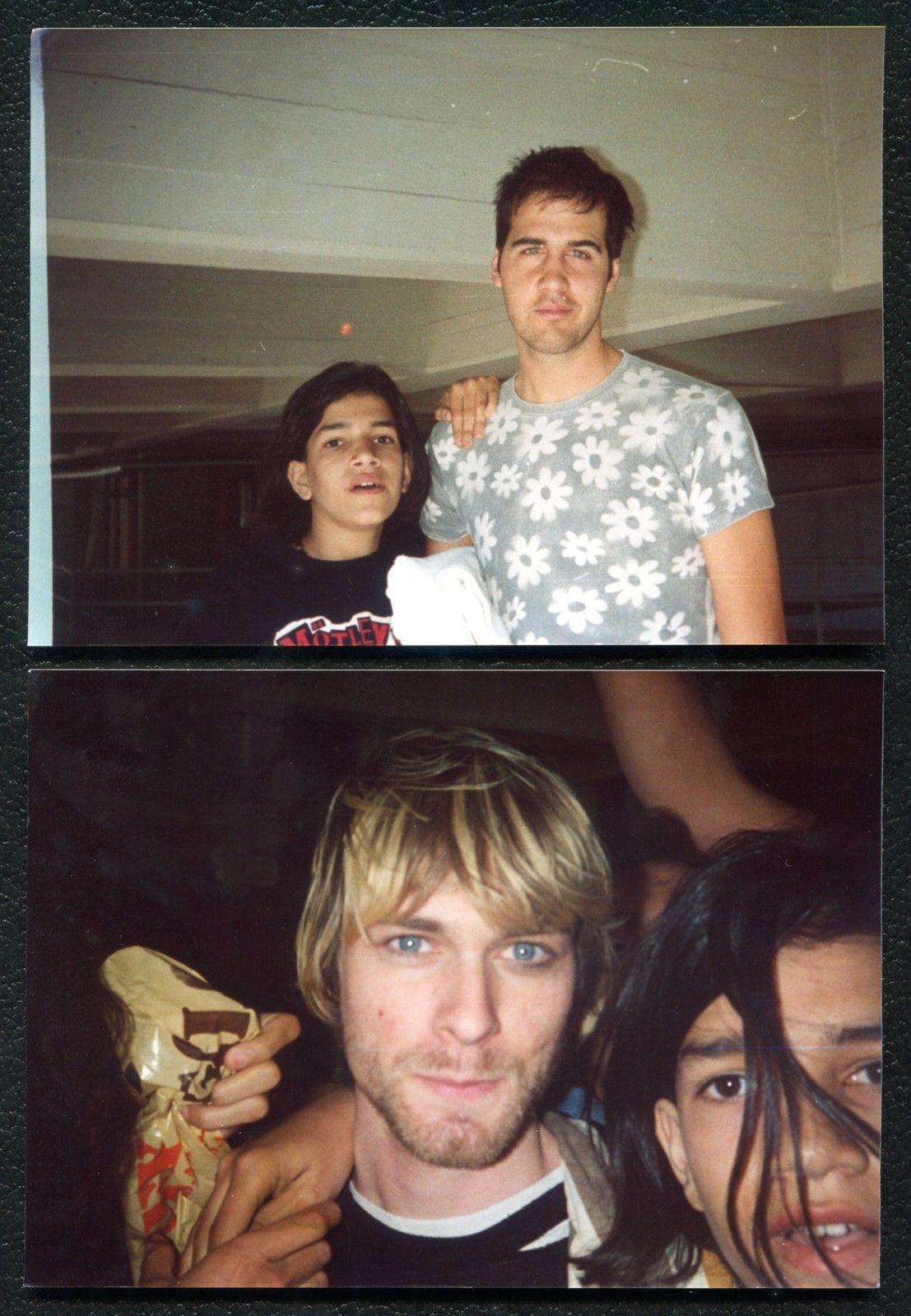 Two 5 by 7 Fan Photos Nirvana Kurt Cobain Krist Novoselic Original 1992 10 30 92 | eBay