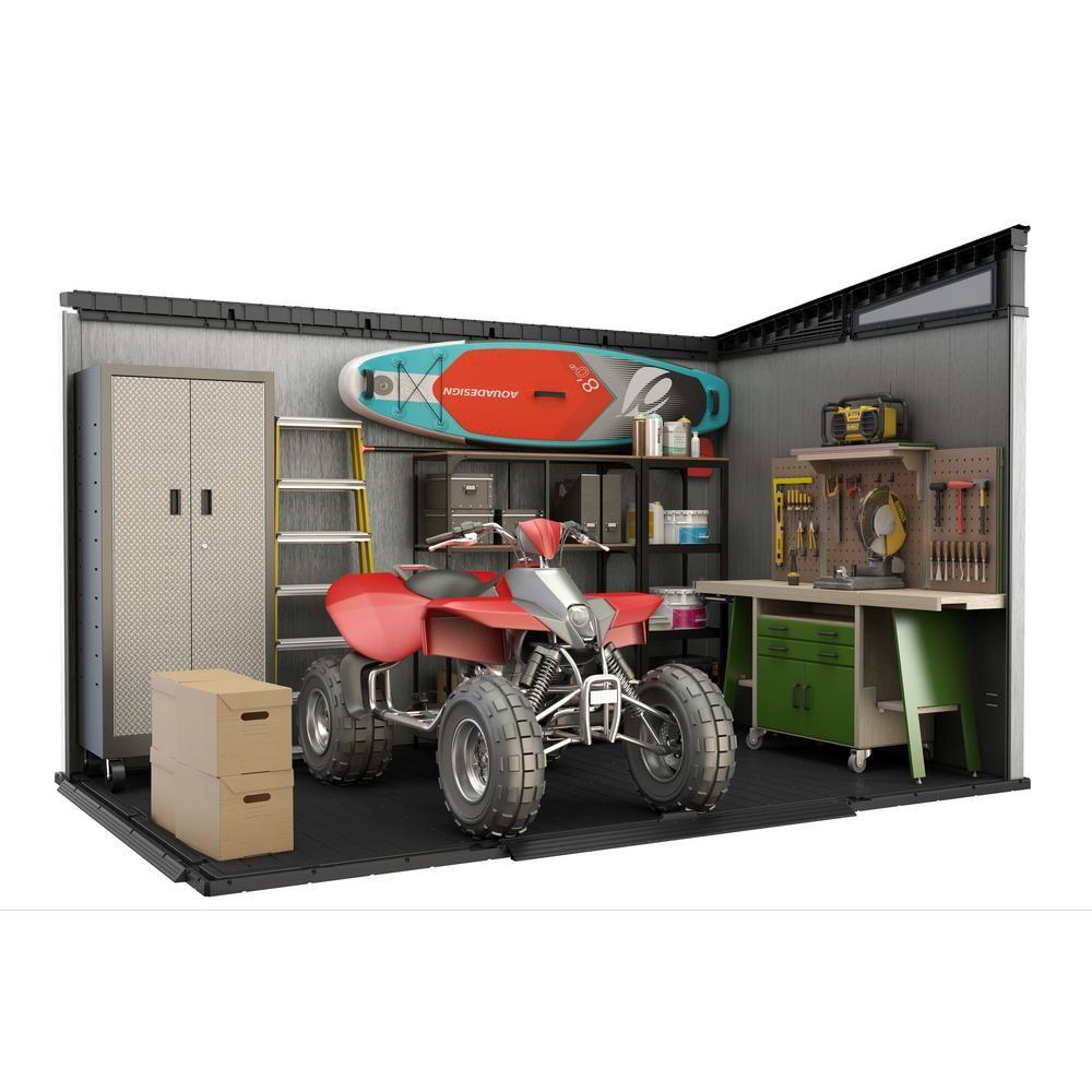 Keter artisan 11 ft x 7 ft resin storage shed241735 in