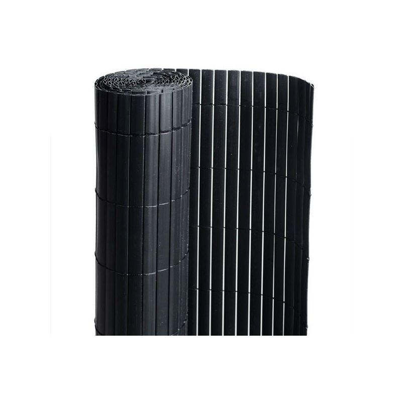 Canisse PVC Noir Double Face 1m50 x 3m