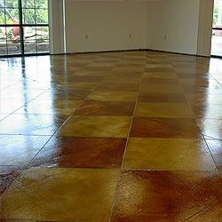 Stained Concrete Floors Chemstone Staining Acid Chemical Flooring Treatments Hydrostone
