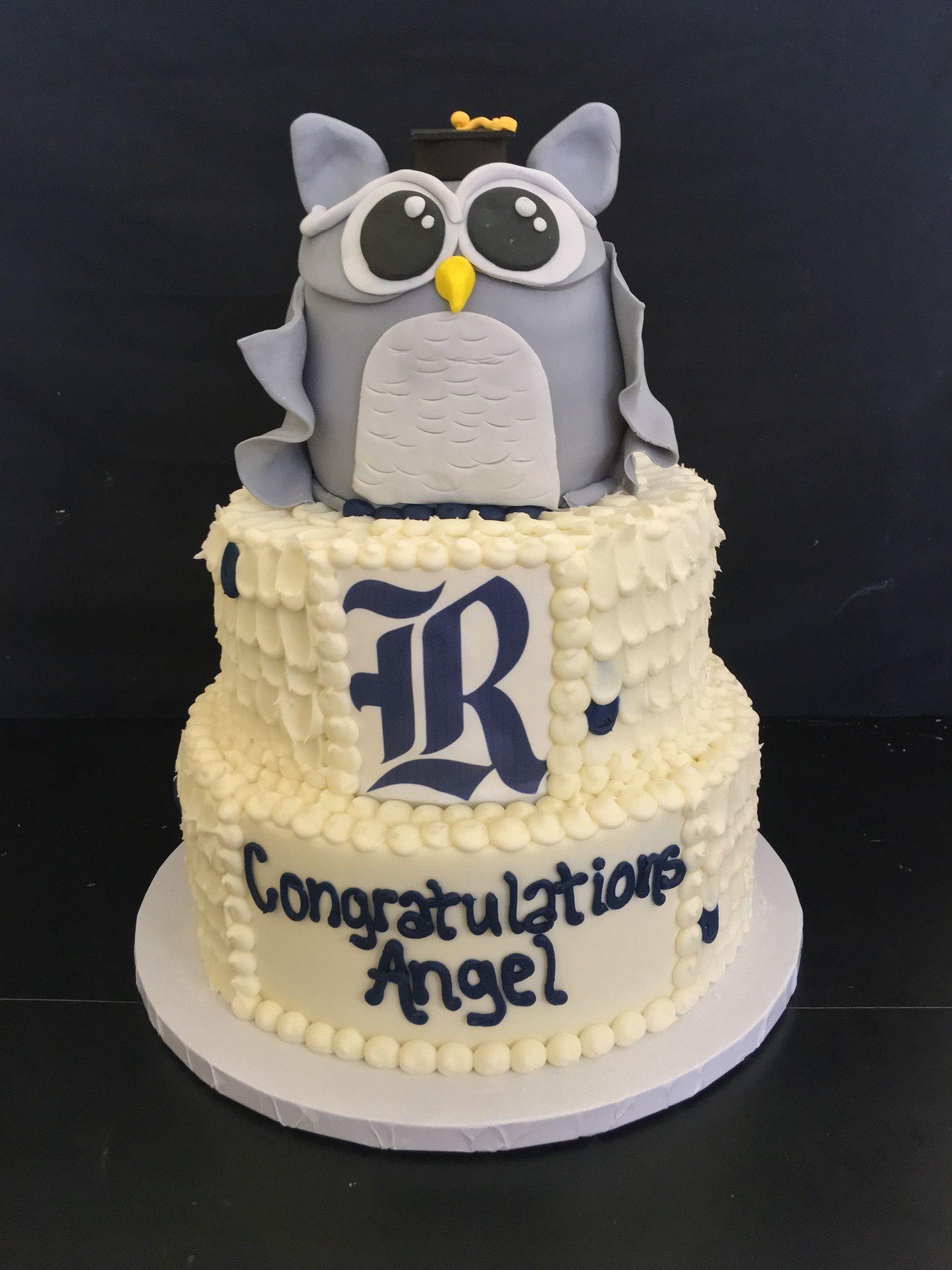 Rice University Graduation Cake