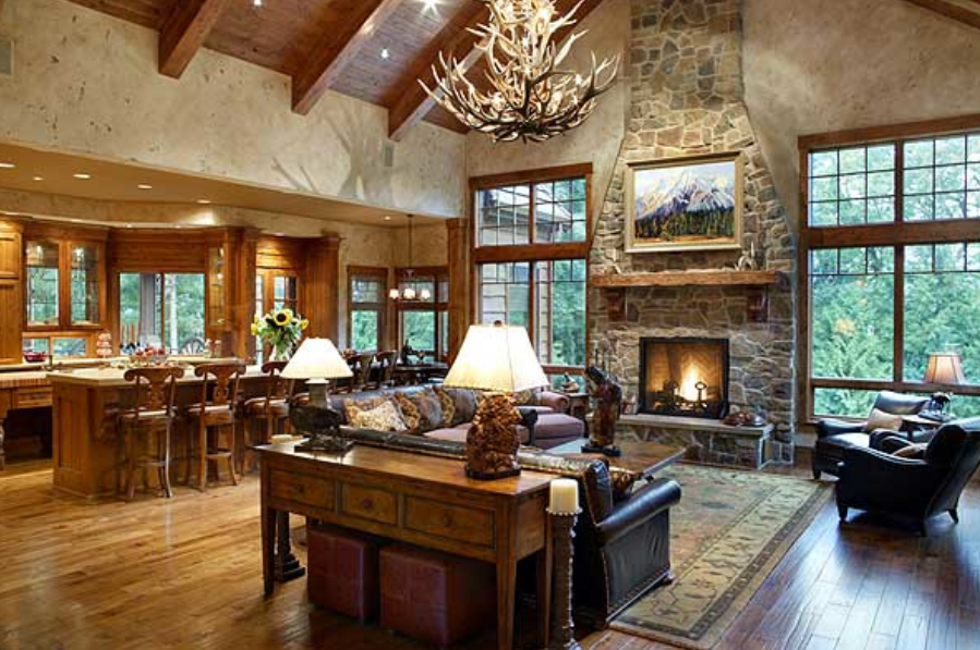 This Fireplace Craftsman House Plans House Plans Ranch House