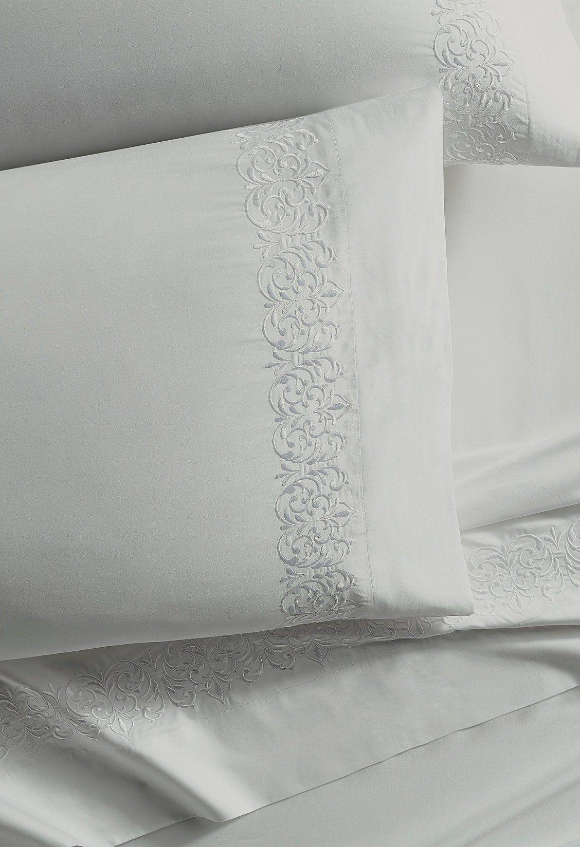 Resort Flourish Egyptian Cotton Sateen Sheet Set Sateen Sheets Egyptian Cotton Egyptian Cotton Bedding