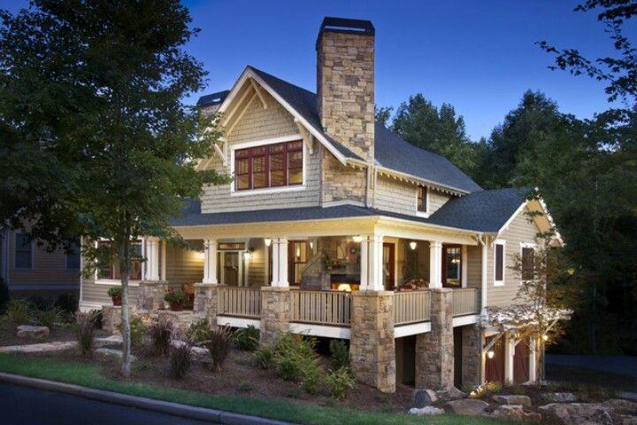 Dream House: Craftsman With Wrap Around Porch. Http://www