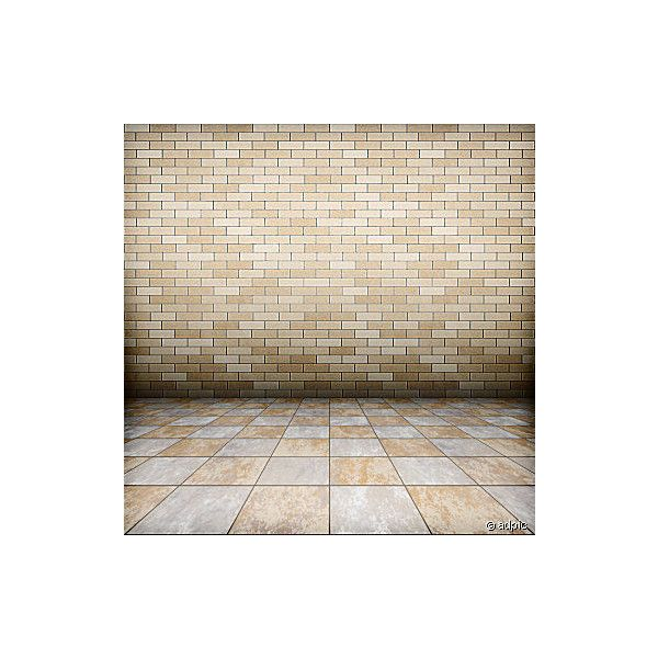 Tiles floor ($13) ❤ liked on Polyvore featuring rooms, backgrounds