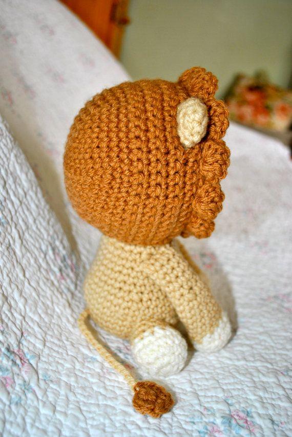 Kitschy Digitals Crochet Knit Patterns Roy The Lion