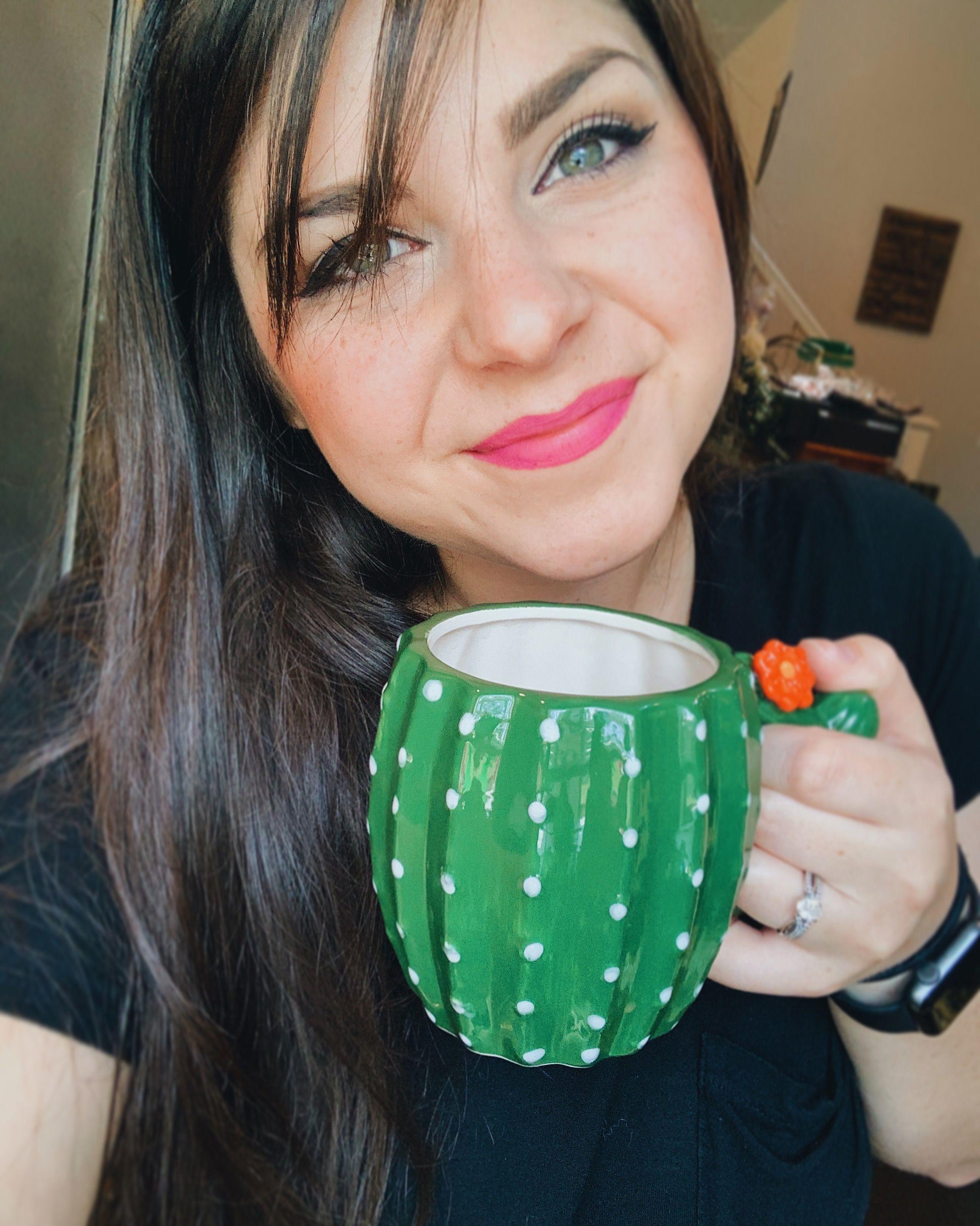 coffeemug cactus cactuslove succulent coffeeoftheday