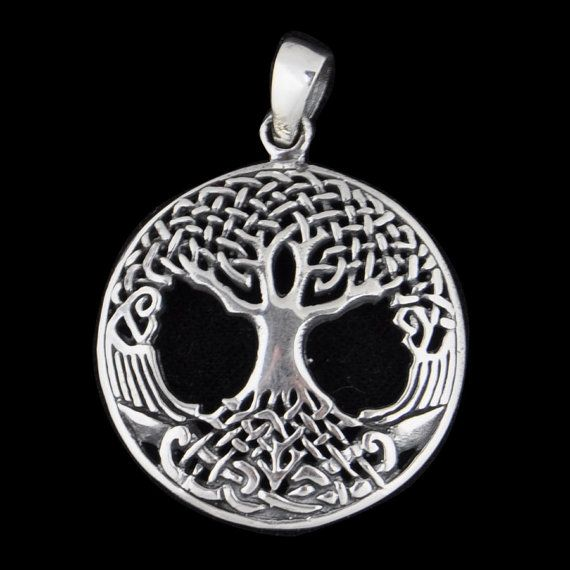 Celtic 'Tree of Life' Pendant on Sterling Silver by Impulse18K
