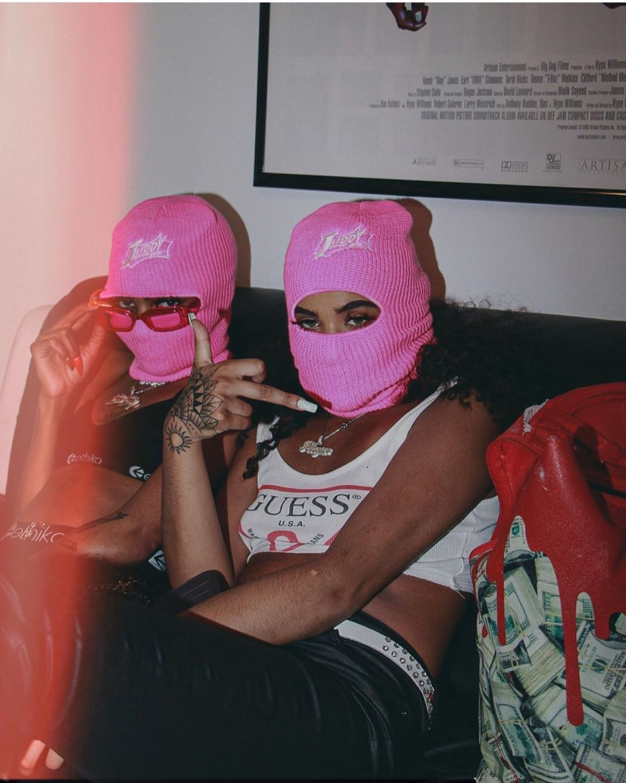 Gangster Girl Baddie Pink Ski Mask Aesthetic : gangster, baddie, aesthetic, Aesthetic, Aesthetic,