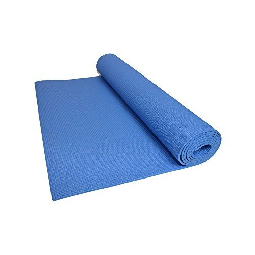 Iris Fitness 10mm Yoga Mat ( Blue ) *** You can find out more