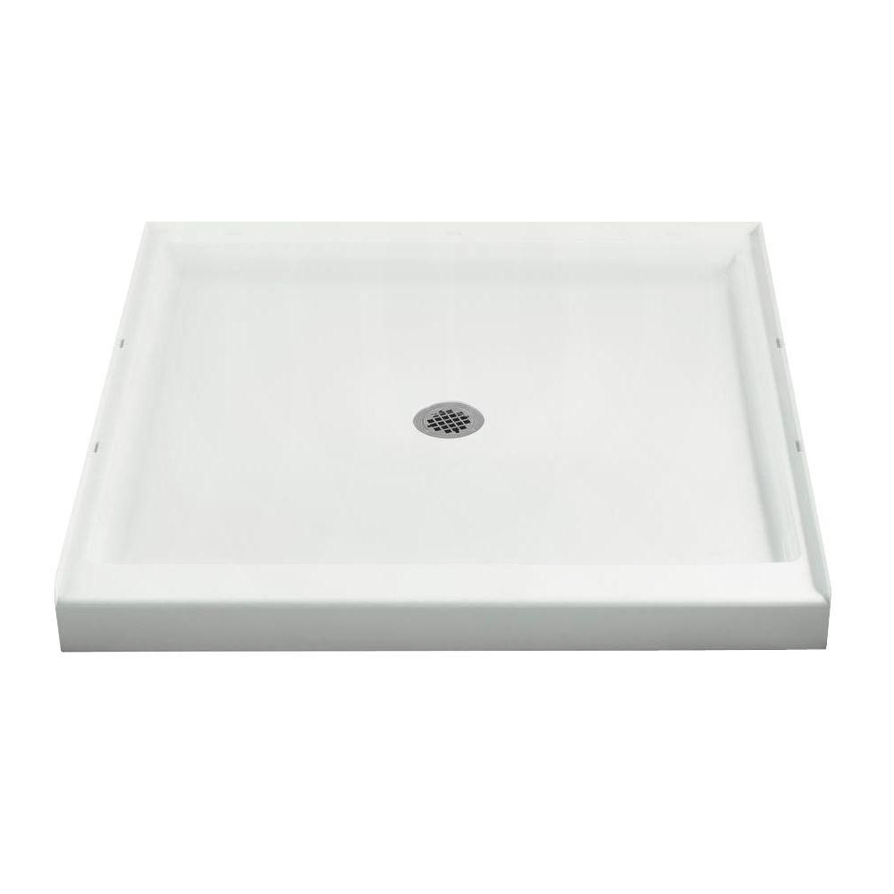 Sterling Ensemble 42 In X 42 In Single Threshold Shower Base In