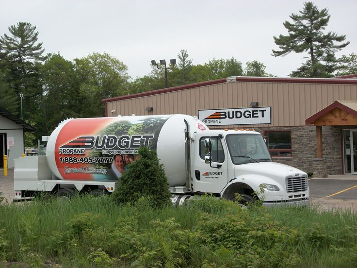 Www Budgetpropaneontario Com Propane Bobtail Truck Trucks