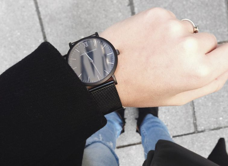 LOVE this Larsson & Jennings Black CM Watch!