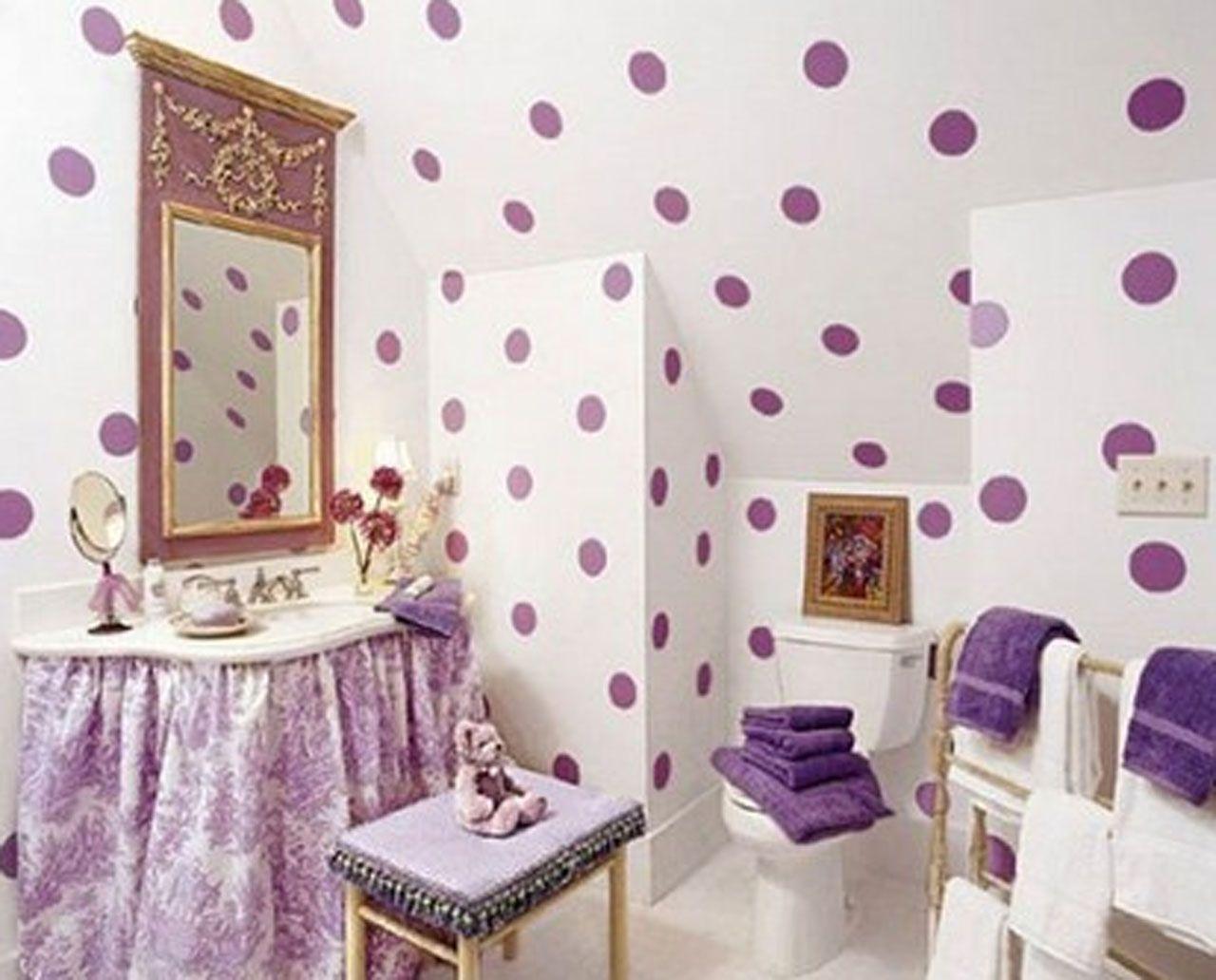 Home » Polka Dots Designs Ideas For Girl\'s Room Decor » Polka Dots ...