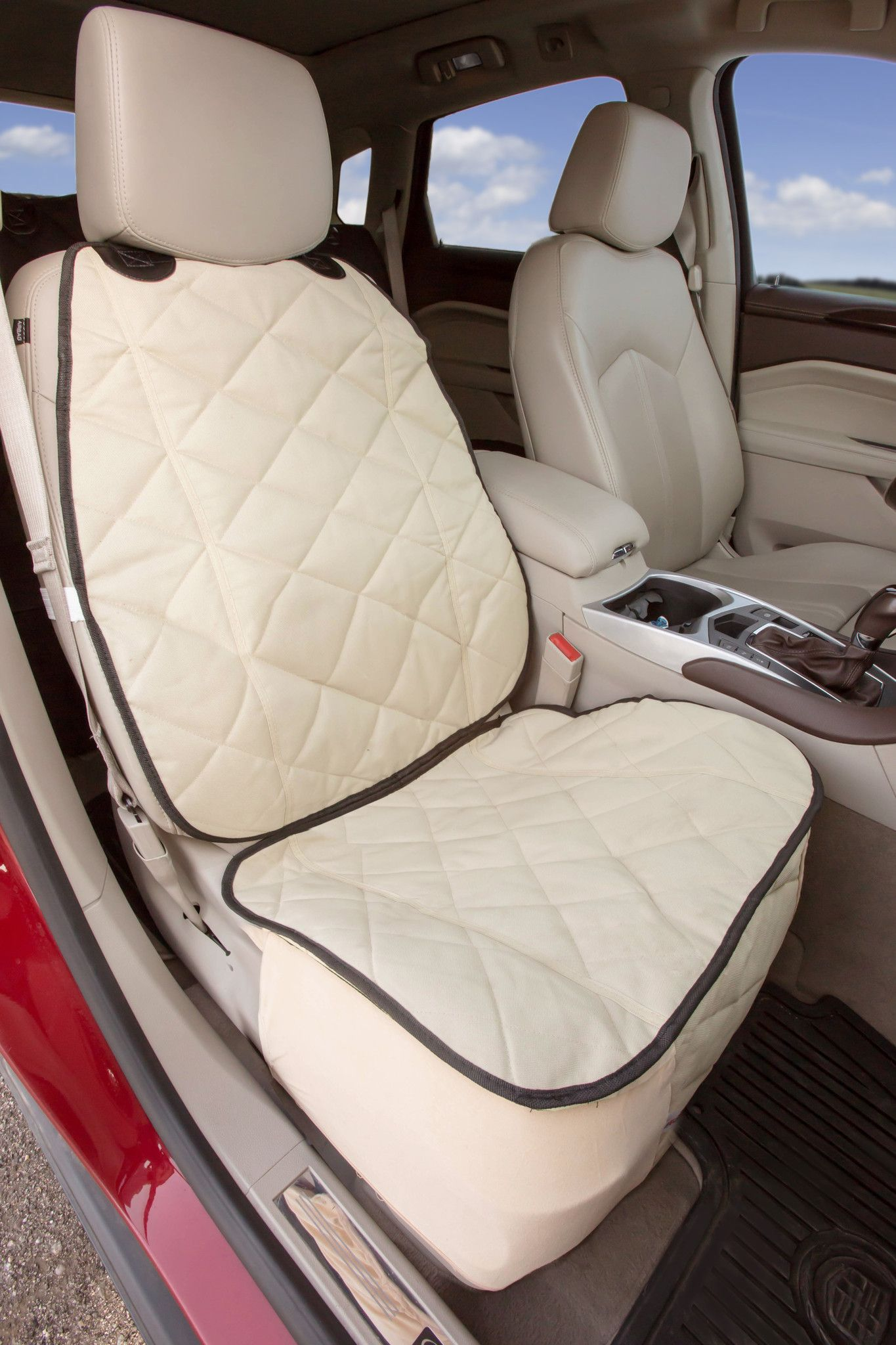 50 Tan Front Seat Cover For Pets