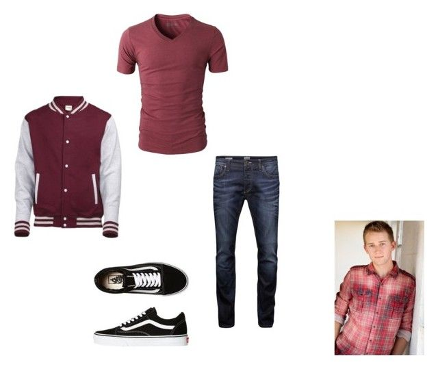 """Brady HH Chapter 1"" by cece-volcanoes on Polyvore featuring Jack & Jones, Vans, men's fashion and menswear"