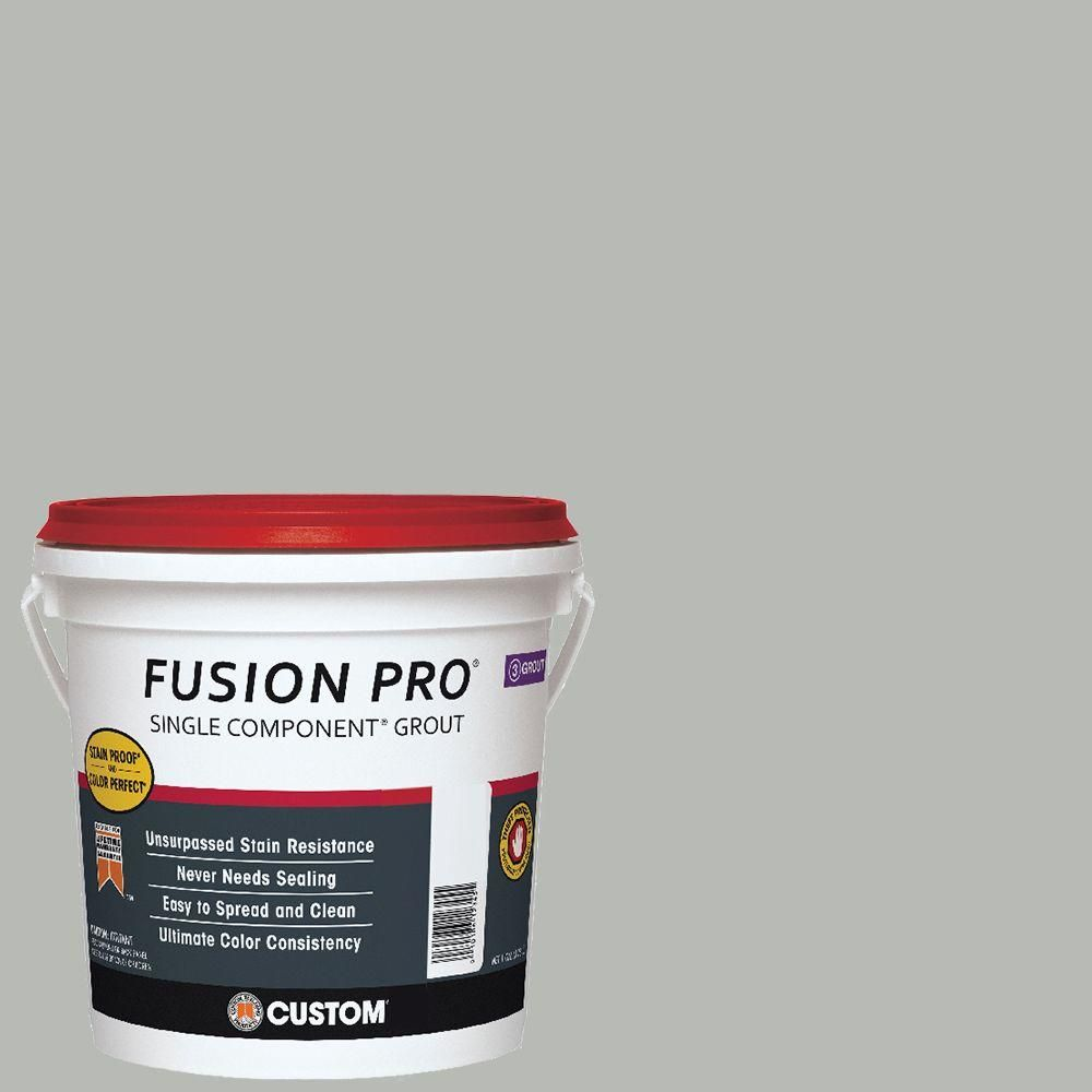 custom building products fusion pro #546 cape gray 1 gal. single