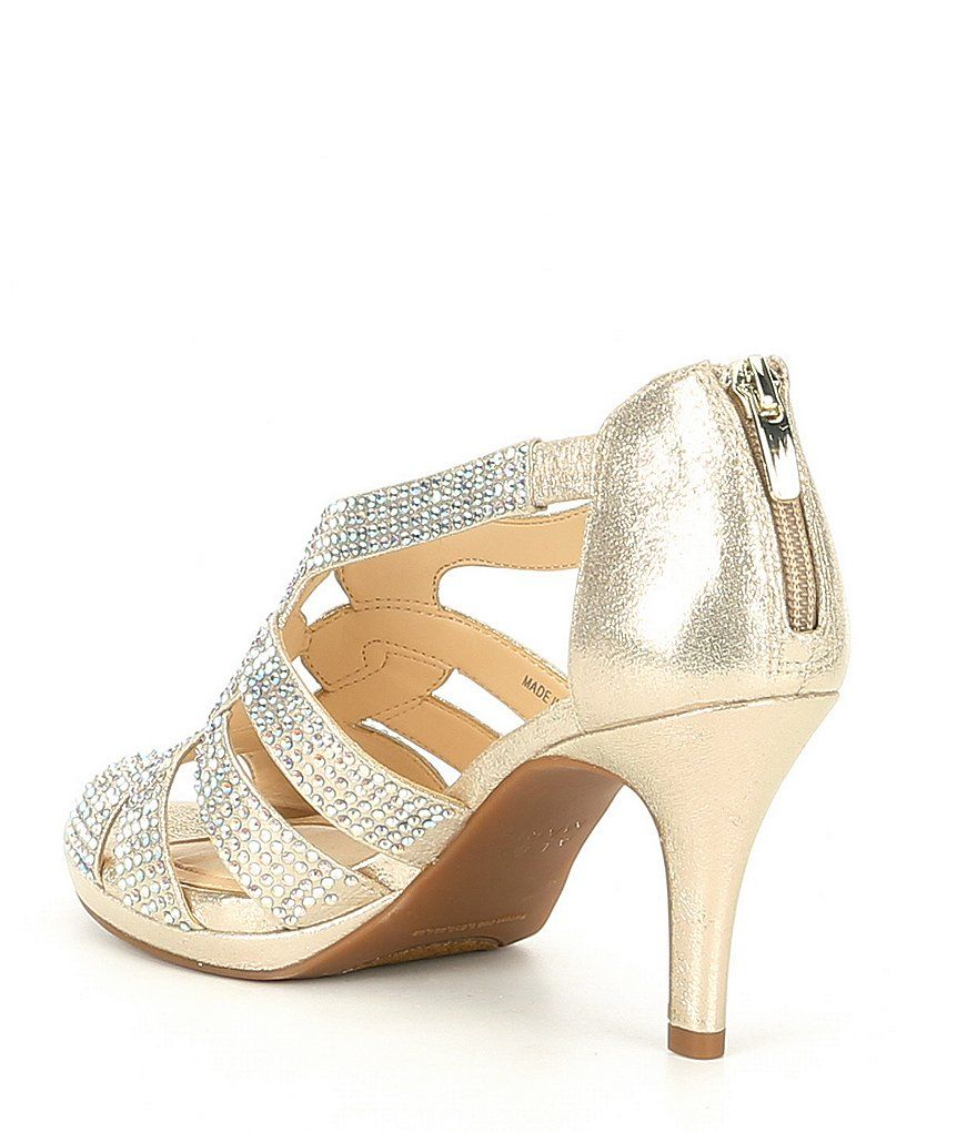 0ab77d070108 Alex Marie Leeanne Hotfix Dress Platform Sandals in 2019