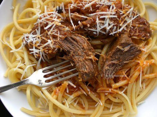Pastitsada - delicious and comforting