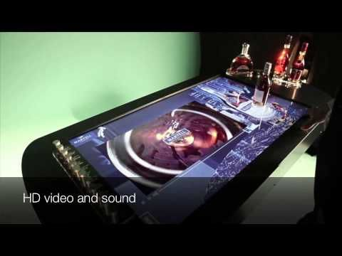 Multisensorial table, Cheil France for Martell Cognac V2 (2014)