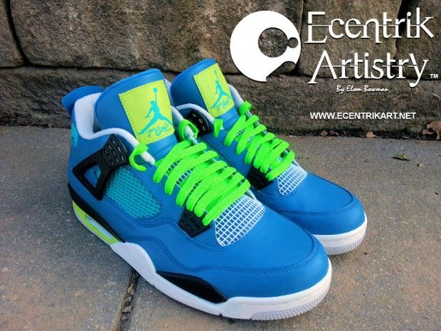 "0543b82a5ce Air Jordan 4 ""Doernbecher Flip"" Custom"