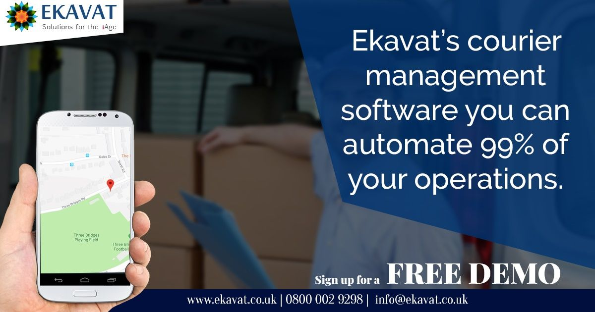 Ekavat Courier Service Software Enriches Your Top And Bottom Lines
