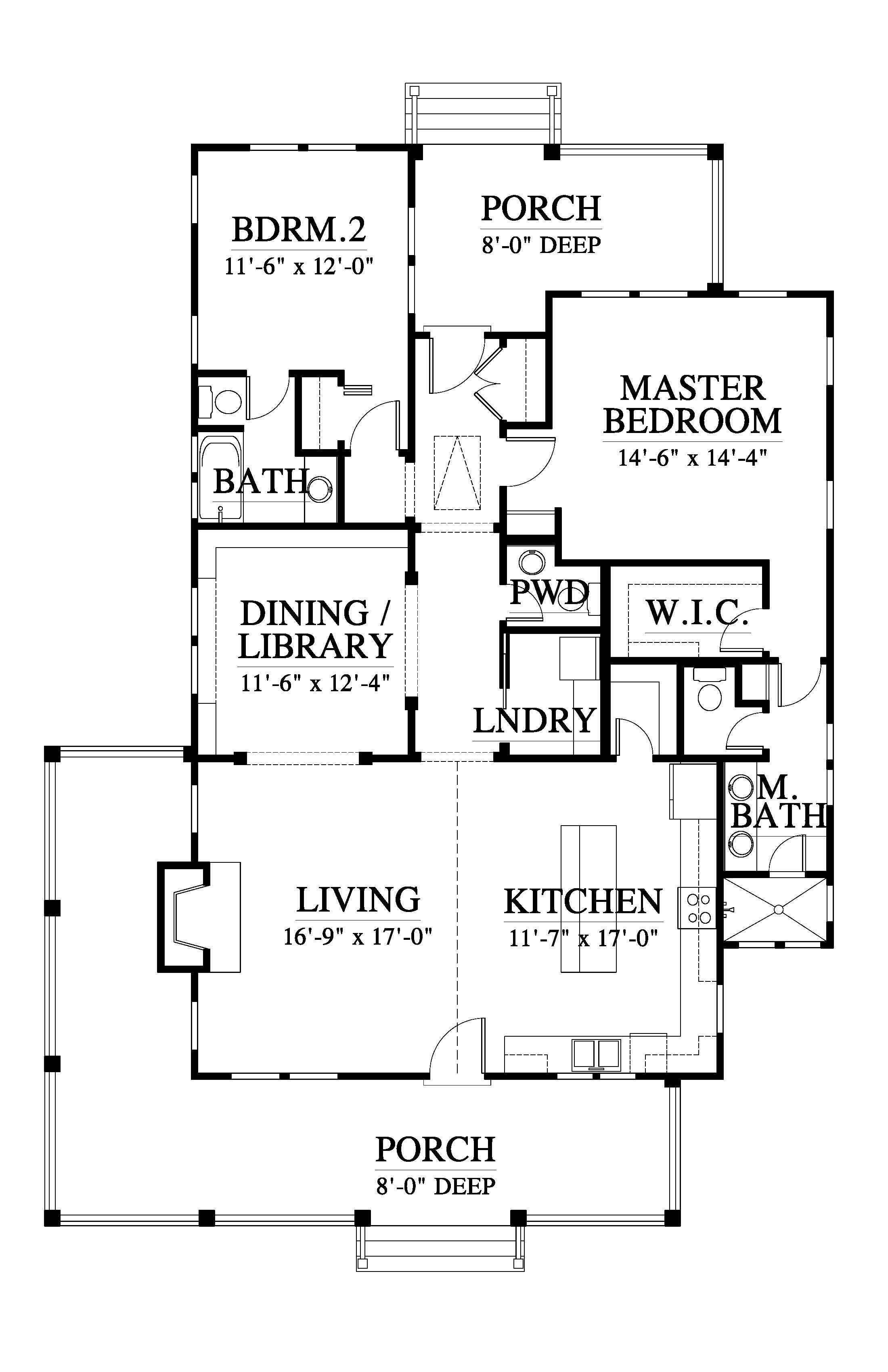 Whisper Creek Cottage House Plan C0568 Design from Allison Ramsey Architects