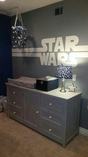 Star Wars Nursery Con Imagenes Decoracion De Dormitorio De